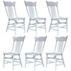 Set of 6 Dining Chairs - France, Circa 1920s