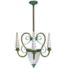 Elegant French Chandelier, 1940s