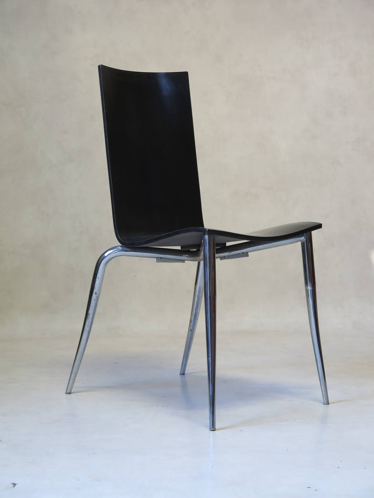 Set of four philippe starck chairs france 1990s for sale at 1stdibs - Chaises philippe starck ...
