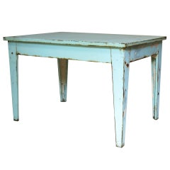 Painted Iron Table - France, 1950s