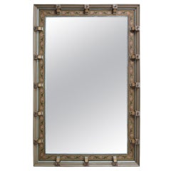 Pairs Very Large Mirror W. Decorated Frame - Italy, Ca. 1900s