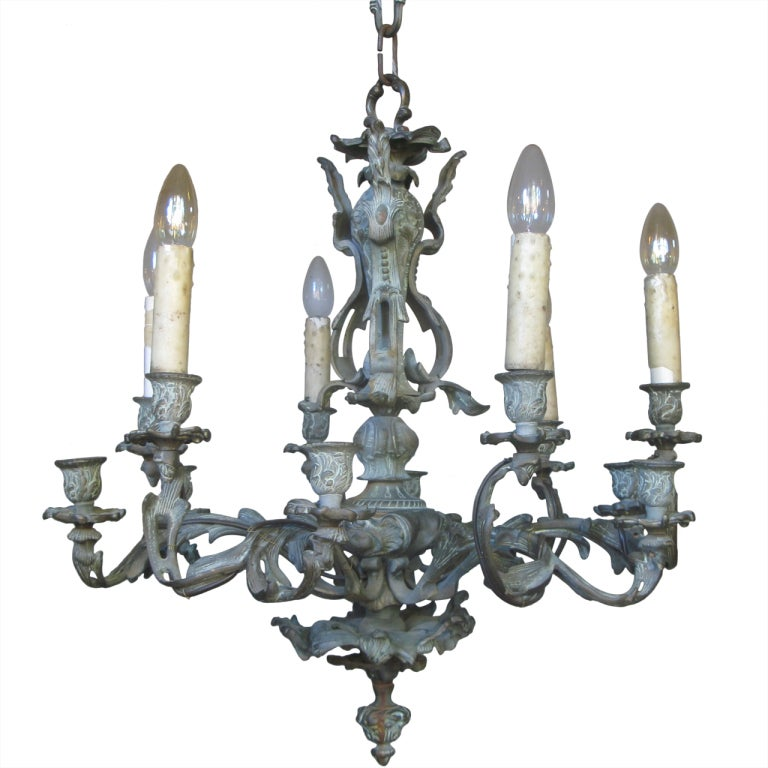 Louis Xv Style Bronze Chandelier At 1stdibs