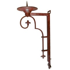Wrought-Iron Sconce - France, 1900s (4 Available)