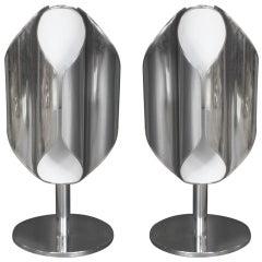 Pair of Quatrefoil Table Lamps