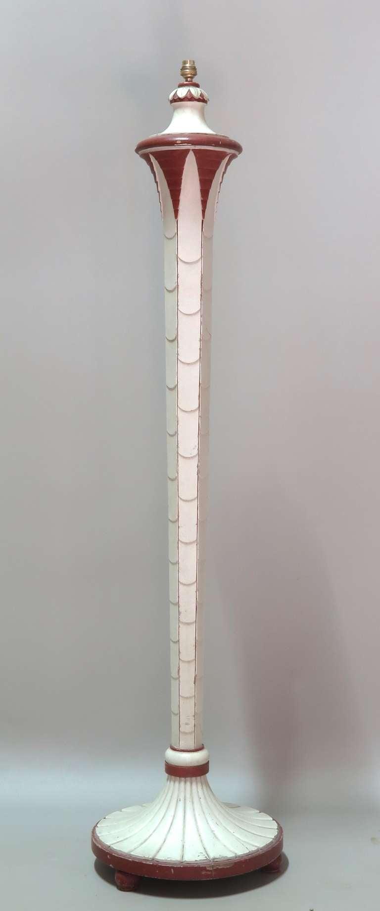 Elegant art deco floor lamp france 1930s at 1stdibs for 1930 floor lamps