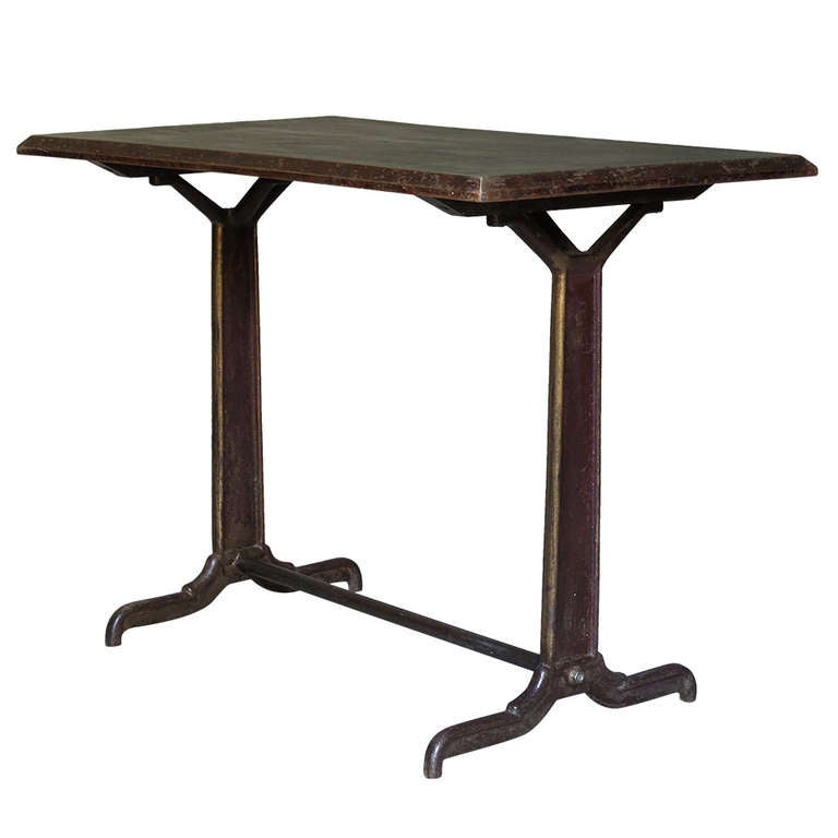 Bistro Table from France ca. 1900