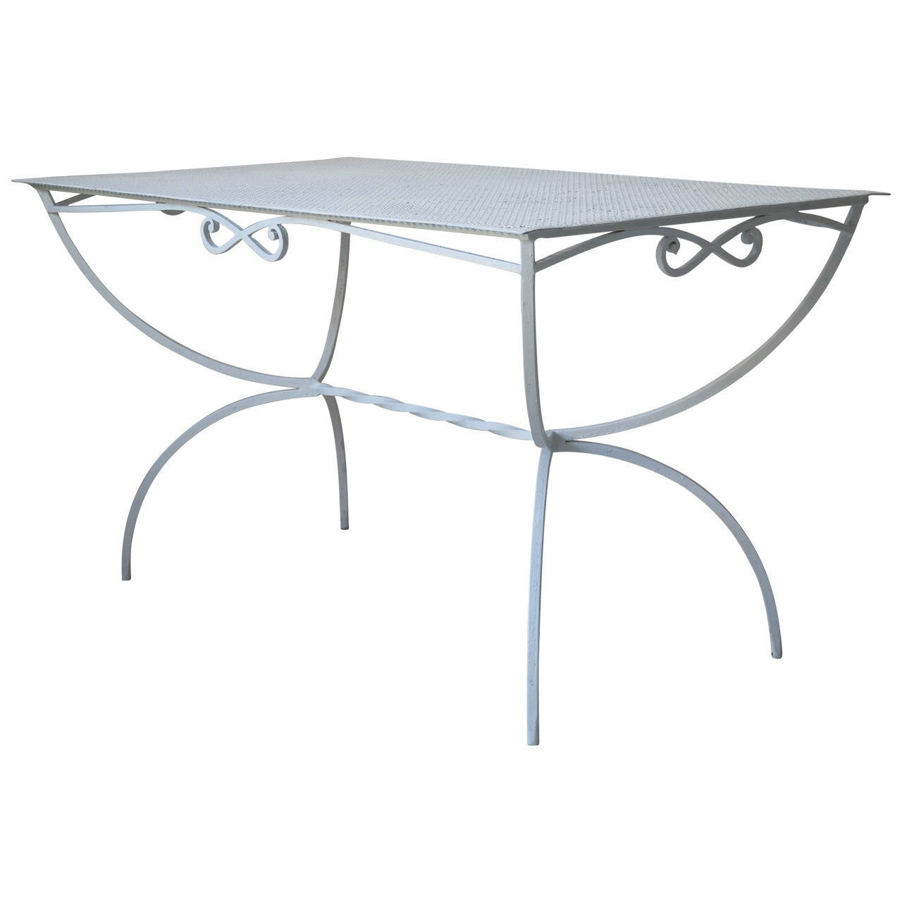 Outdoor Dining Table by Maison Jansen, France, 1950s