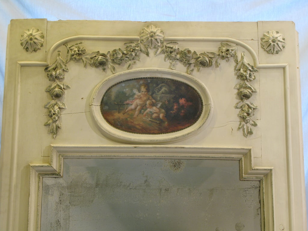 Large Scale Louis Xvi Style Trumeau Mirror For Sale At 1stdibs