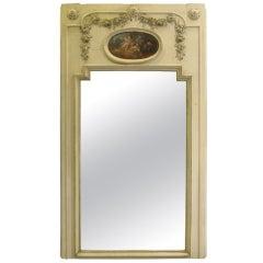 Large Scale Louis XVI Style Trumeau Mirror