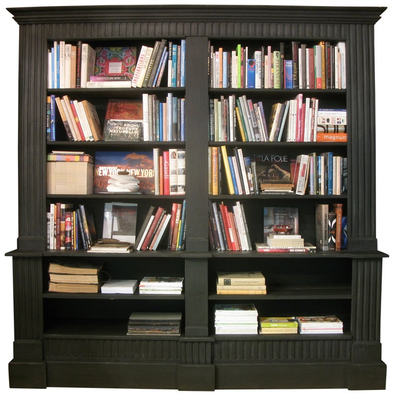 French 19th Century Style Large Bookcase 1