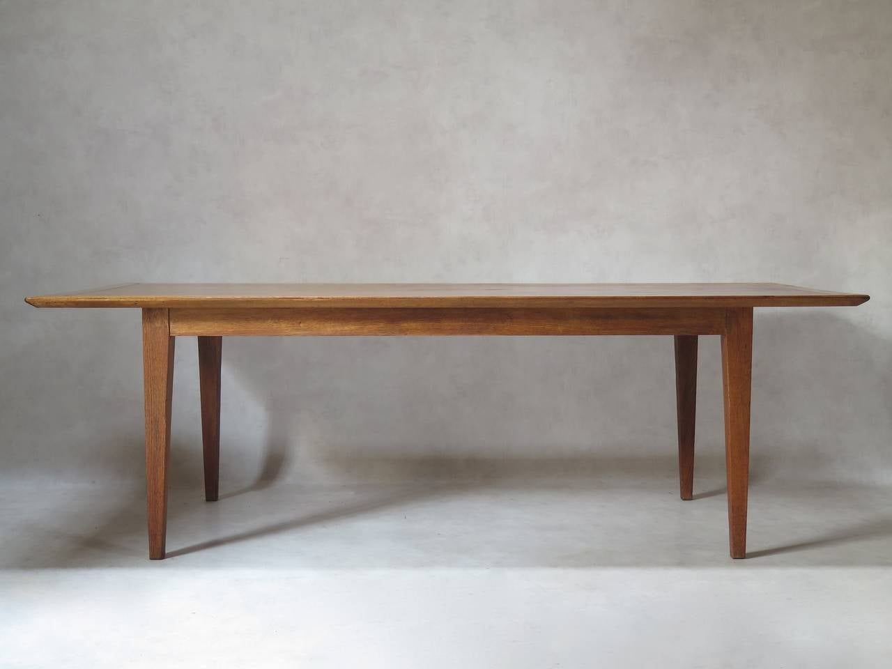 Japanese Inspired Oak Credenza And Dining Table By Colette