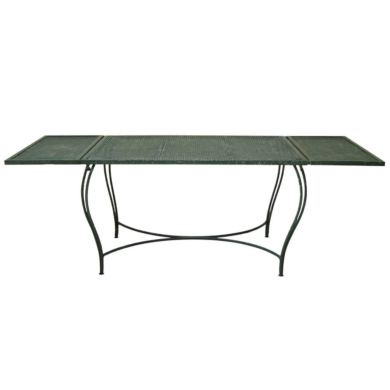 Wrought Iron Garden Dining Table - France, 1950s
