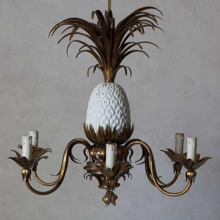 timeless design 1e637 2a849 Pineapple Chandelier - France, 1950s at 1stdibs