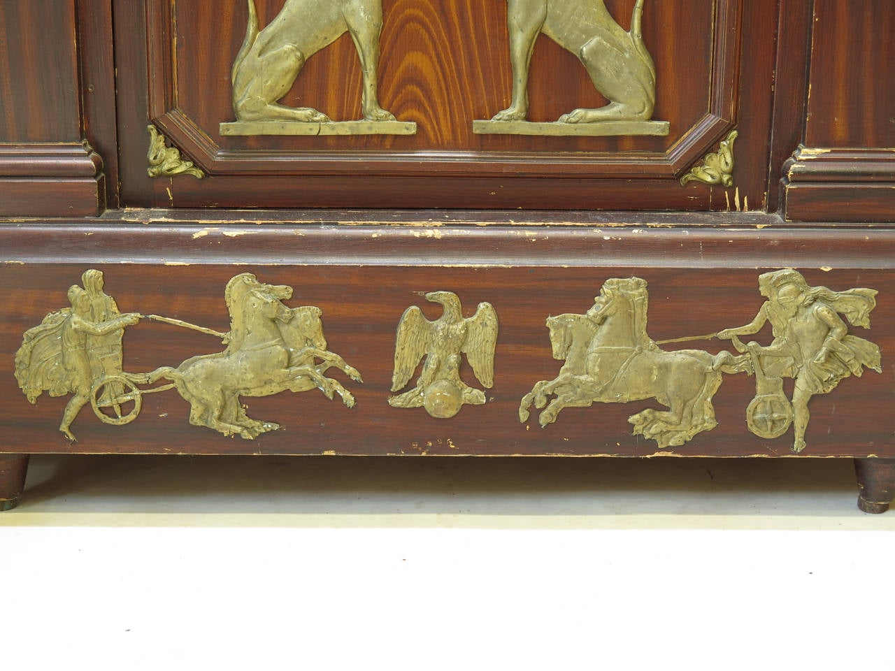 Unusual empire style bookcase france 19th century for for Quirky items for sale