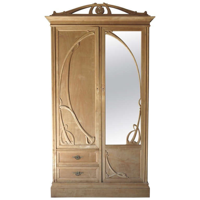 Art Nouveau Armoire - France, Early 20th Century at 1stdibs