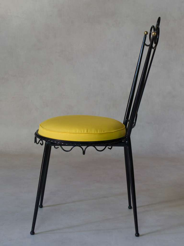 Fun And Decorative Side Chair France 1950s For Sale At