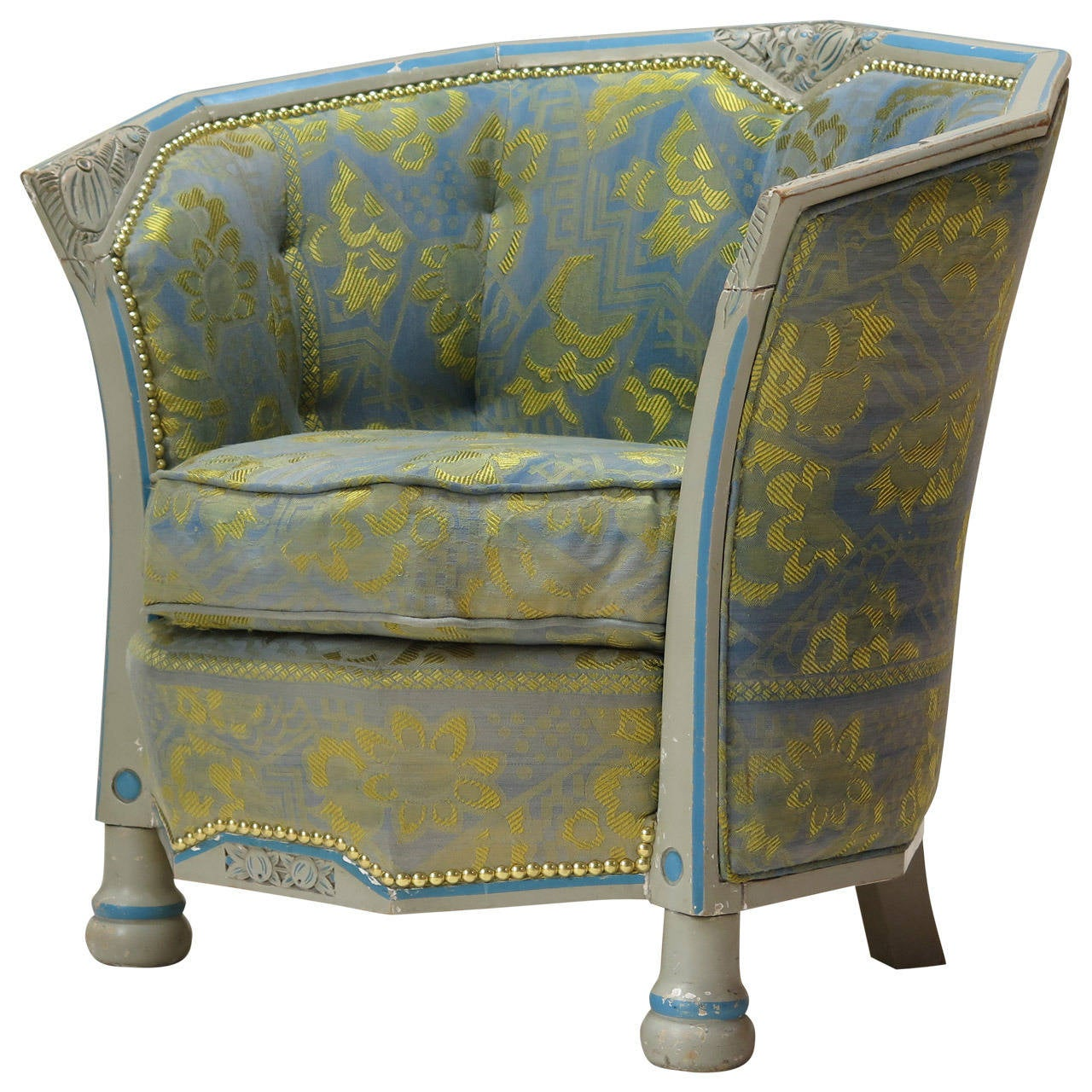 French Art Deco Bergere from the 1920s