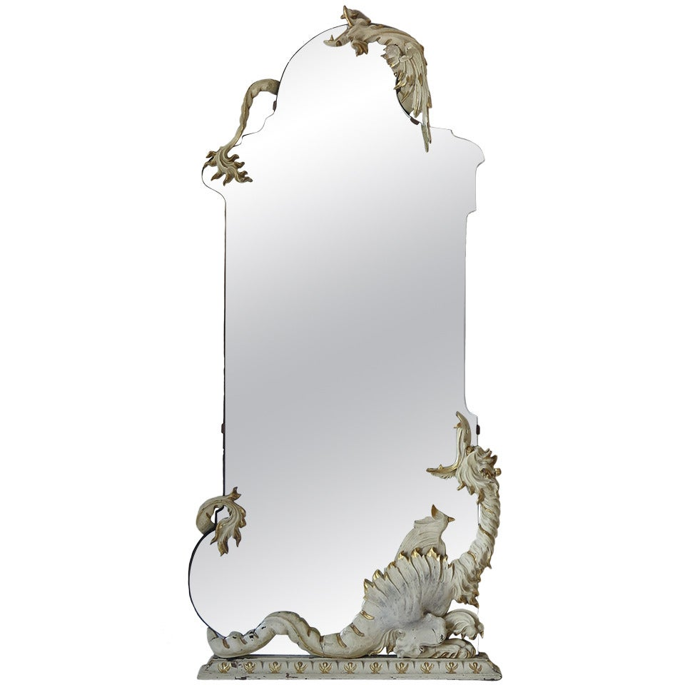 Mirror with Dragons, Italy, 1940s
