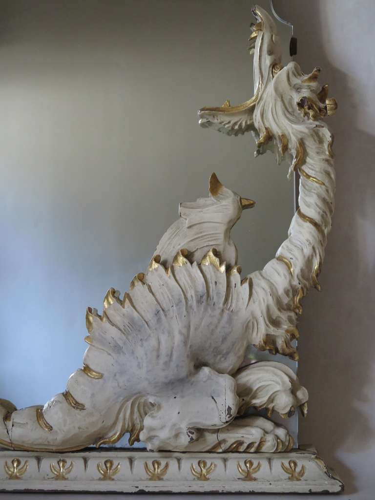 Mirror With Dragons Italy 1940s For Sale At 1stdibs