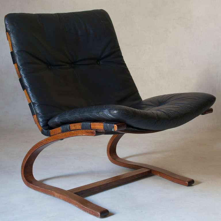 Set Of 4 Chairs By Ingmar Relling For Westnofa Norway