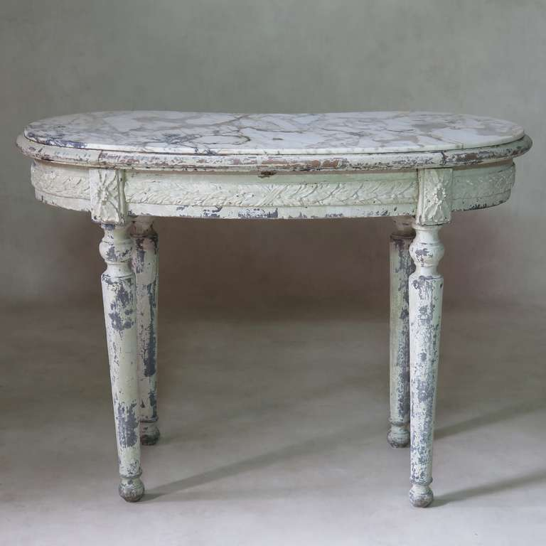 Louis Xvi Style Kidney Shaped Vanity Desk For Sale At 1stdibs