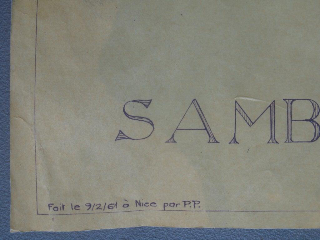 Samba Pinball Machine From 1961 For Sale 6
