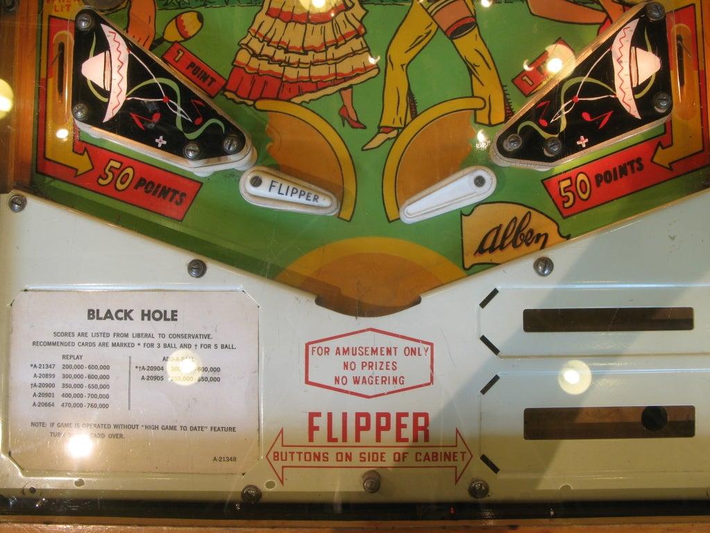 Samba Pinball Machine From 1961 For Sale 2