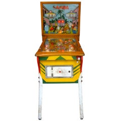 Samba Pinball Machine From 1961