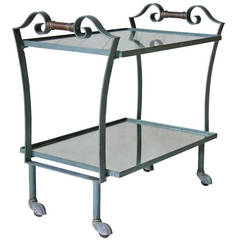 Art Deco French, 1940s Trolley