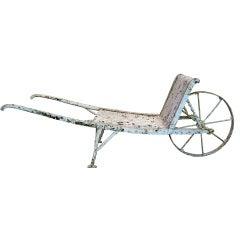 Wrought Iron Wheelbarrow from Arras