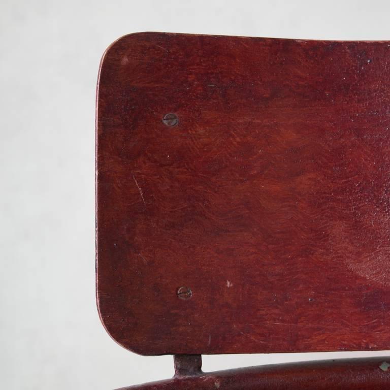 Unusual Bauhaus Tubular Metal Chair, France, 1930s For Sale 3