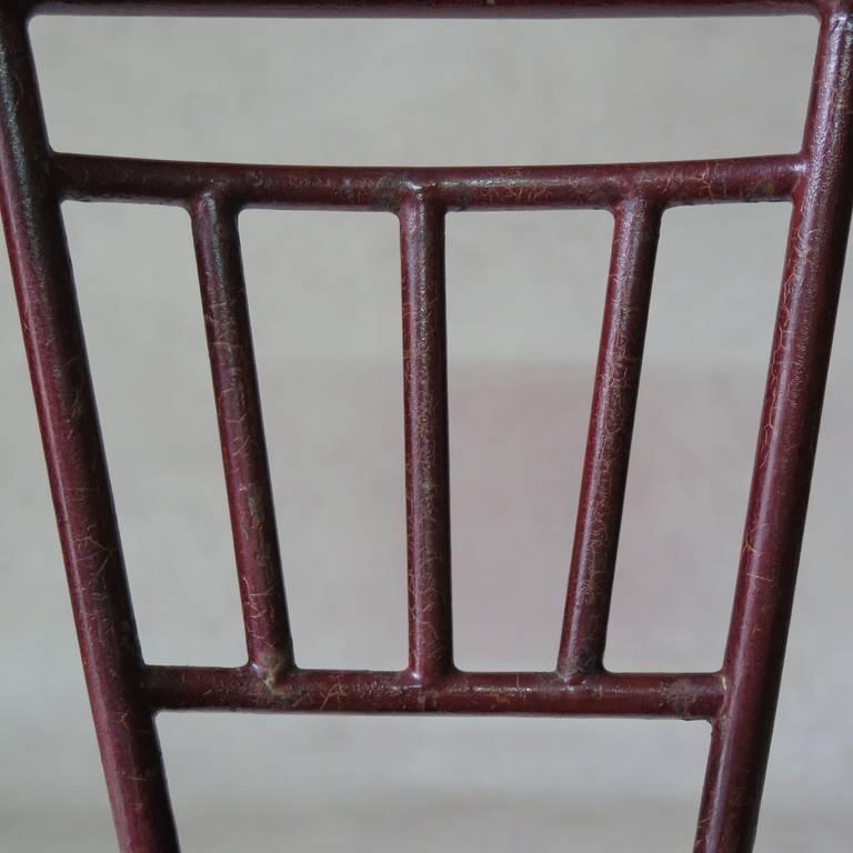 Unusual Bauhaus Tubular Metal Chair, France, 1930s For Sale 4