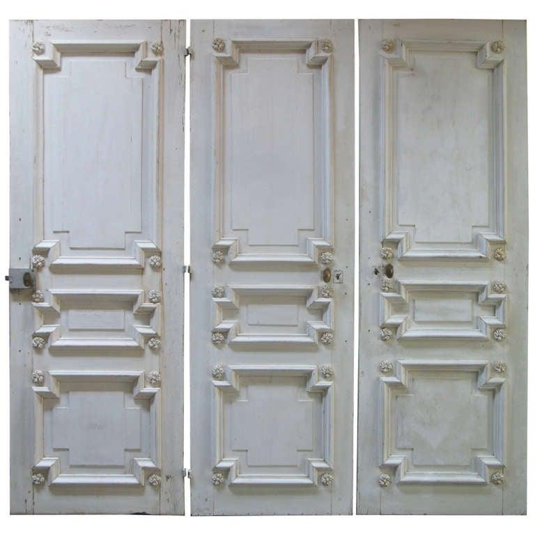 Set of Three Doors, France, 19th Century 1