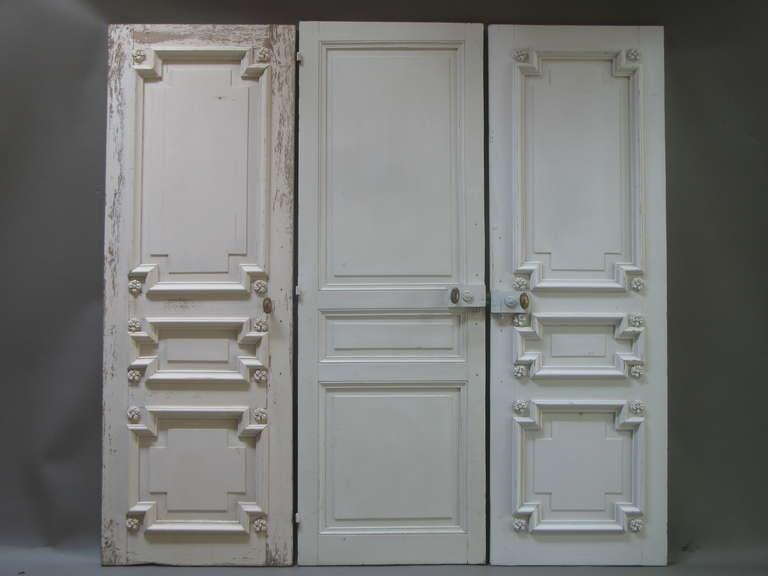 Set of Three Doors, France, 19th Century 8