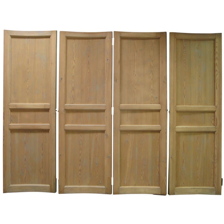 6 Curved Doors - France, 19th Century For Sale