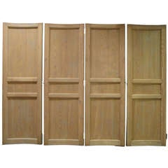 6 Curved Doors - France, 19th Century