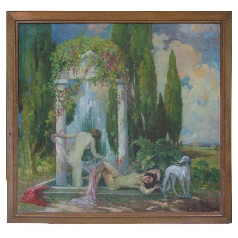 Women Bathing - France, 1945