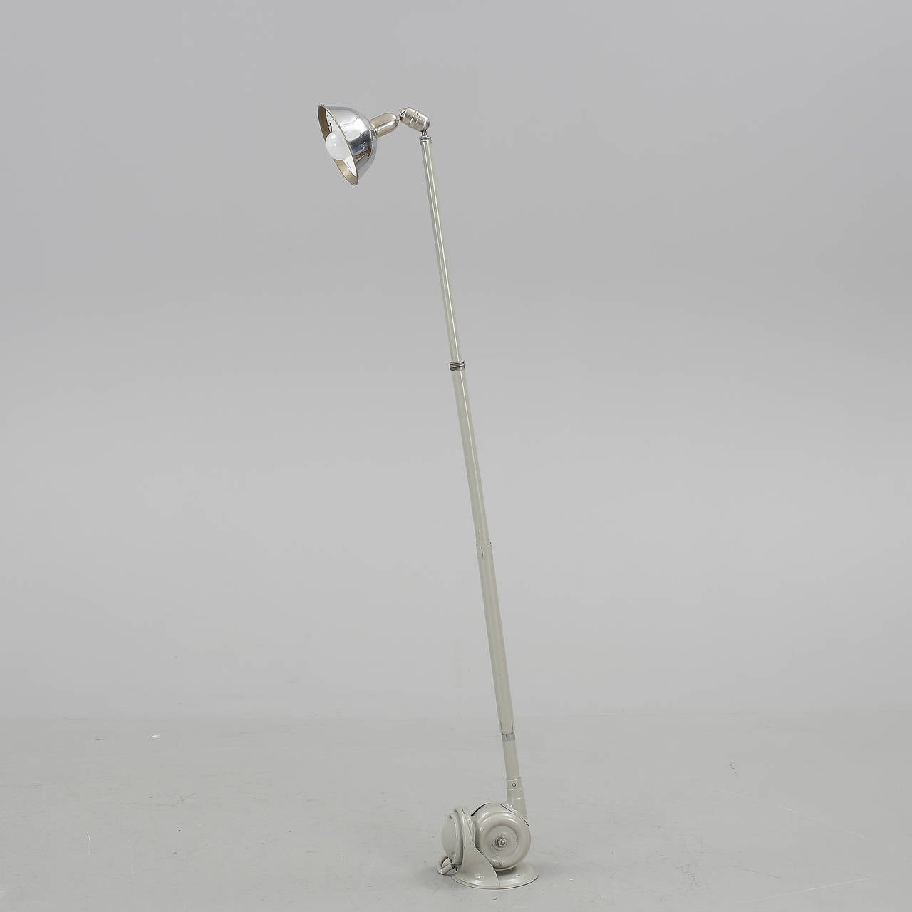 Telescopic lamp designed by Johan Petter Johansson.