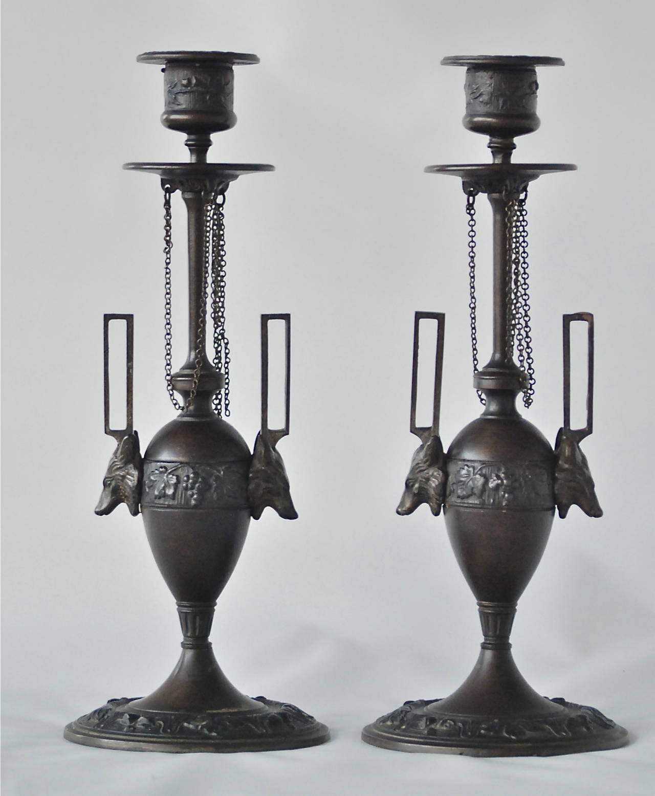 Pair of Candleholders by F. L. Vombach 2