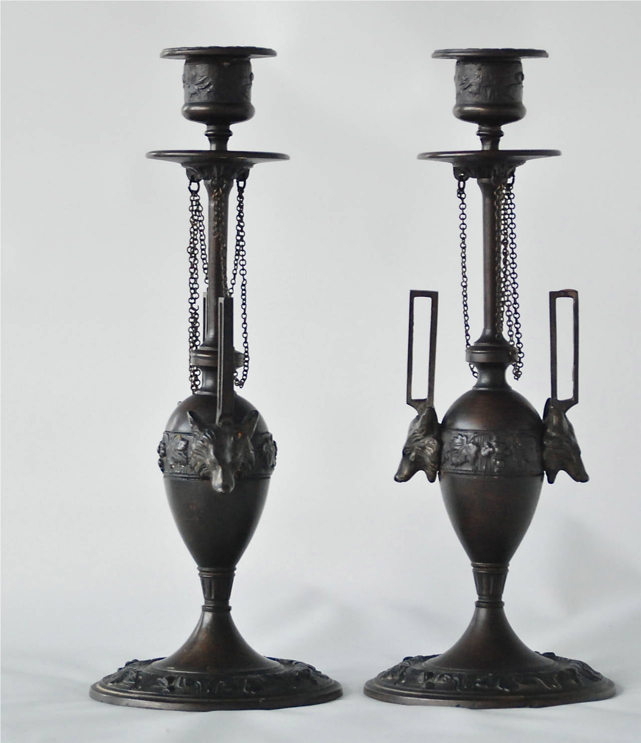 Pair of Candleholders by F. L. Vombach 3