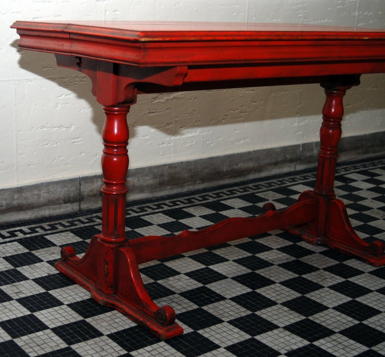 Console Dining Table By Imperial Grand Rapids At 1stdibs