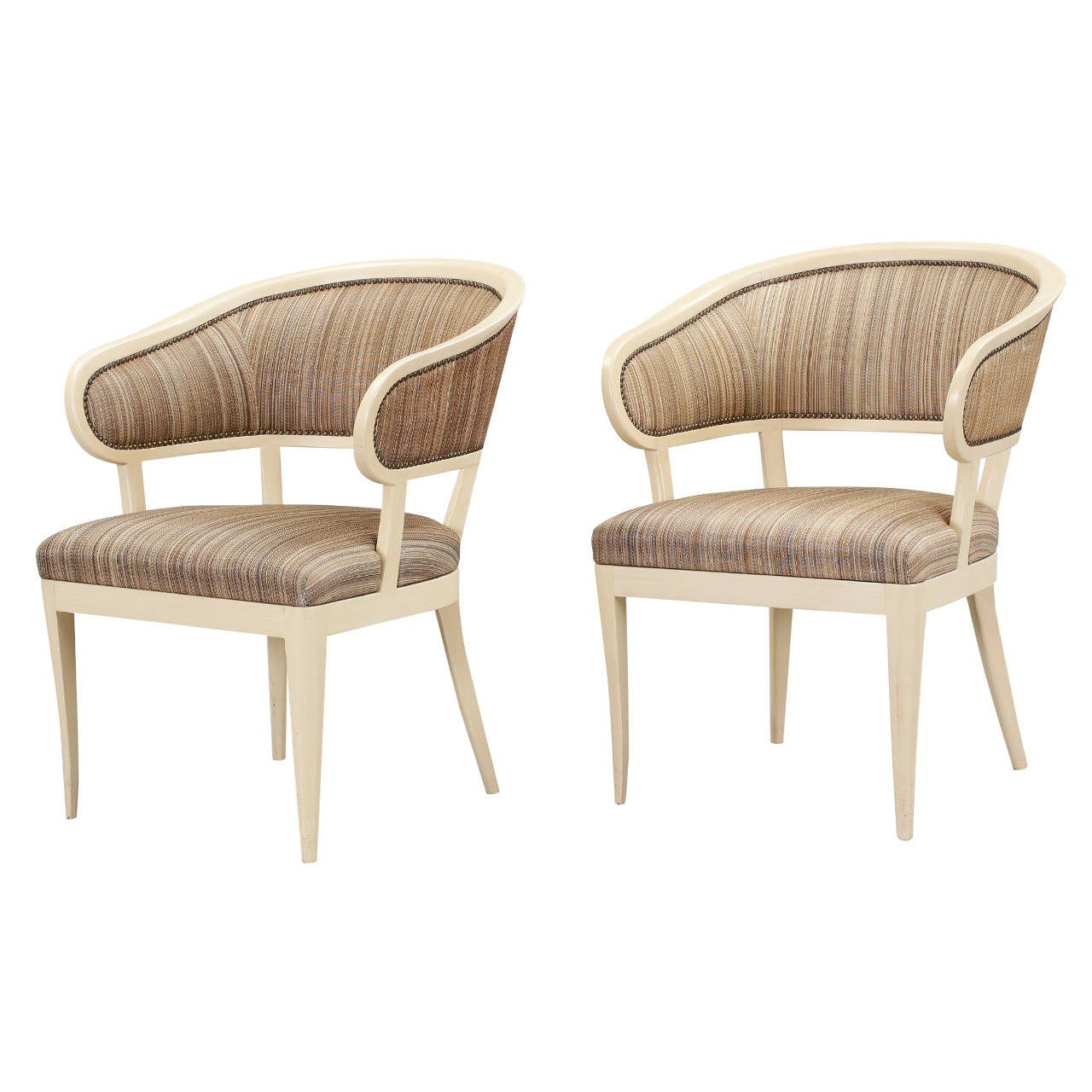 pair of jonas love chairs by carl malmsten for sale at On jonas furniture