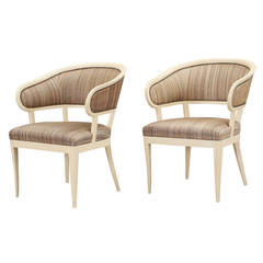 "Pair of ""Jonas Love"" Chairs by Carl Malmsten"