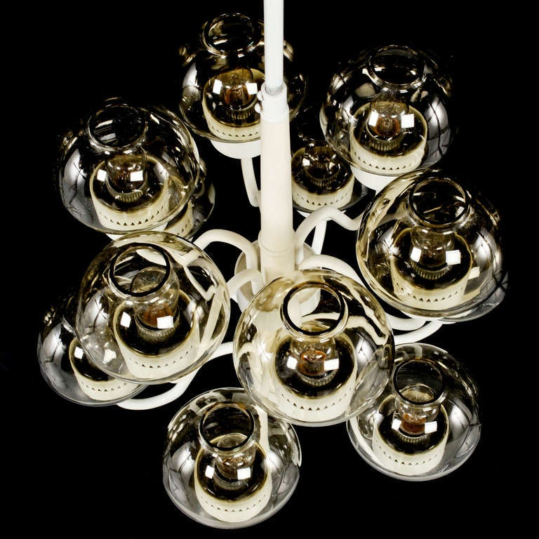 Swedish Chandelier by Hans-Agne Jakobsson For Sale