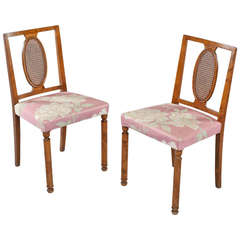 "Pair of ""Coolidge"" Chairs by Axel Einar Hjorth for Nordiska Kompaniet"