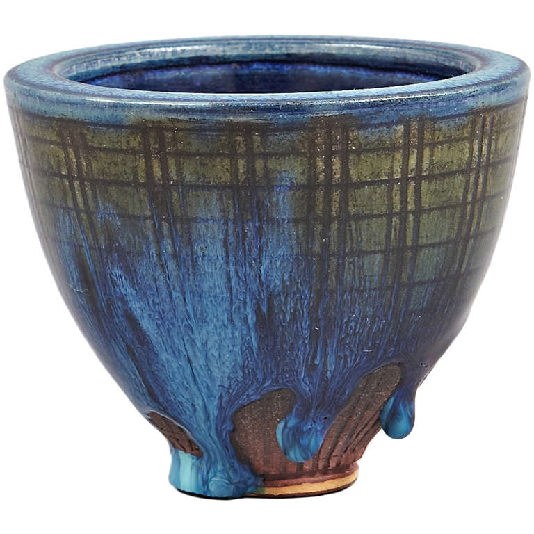 Vase by Wilhelm Kage, Farsta For Sale
