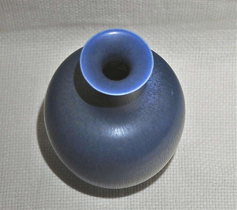 Swedish Stoneware Vase by Berndt Friberg For Sale