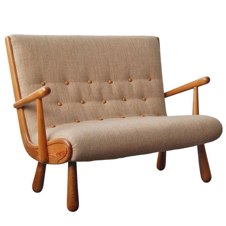 Settee in the Style of Philip Arctander
