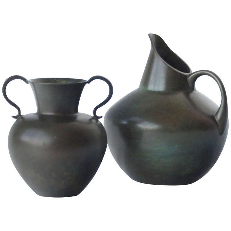 Pair of Vases by GAB Bronce