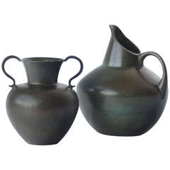 Pair of Vases by GAB Bronce